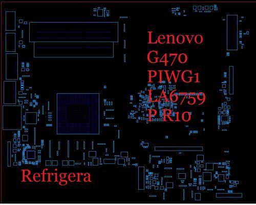 BoardView Lenovo G470 PIWG1 LA6759P R10 - LENOVO - AndreCisp